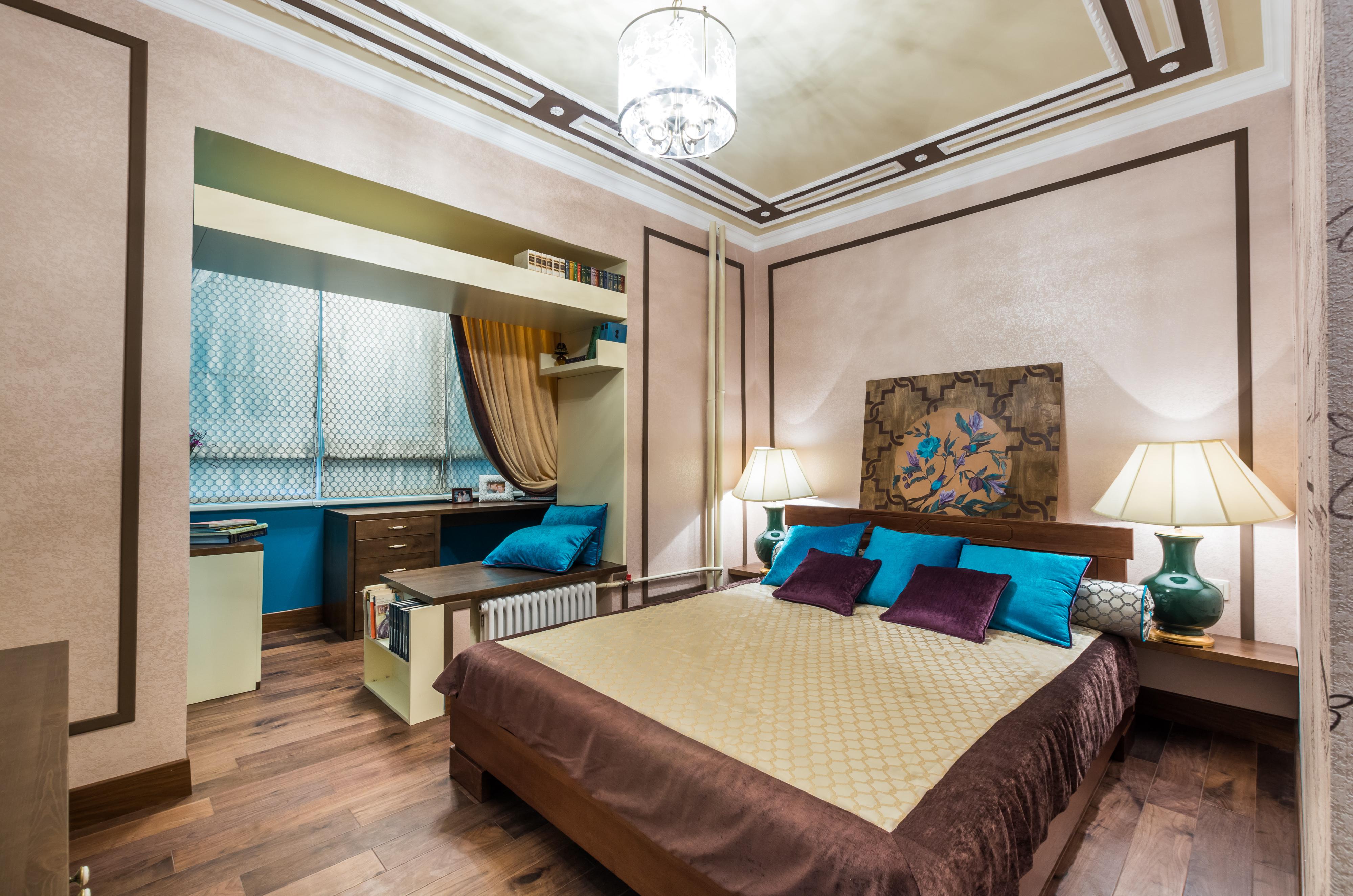 Дизайн спальни 8 кв. м. (139 фото): интерьер маленькой комна.